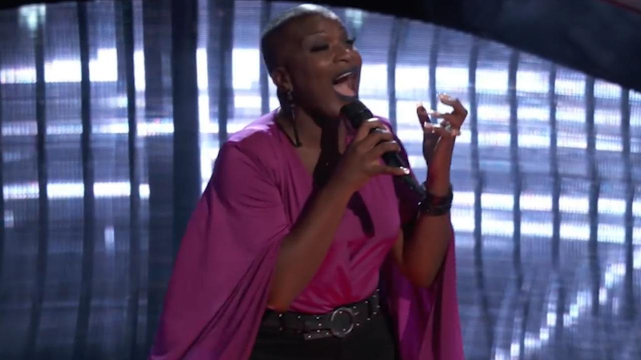 Bekijk hier de blind audition van Janice Freeman