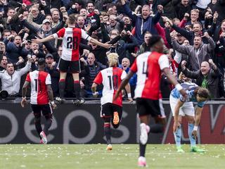 Voorsprong op Ajax blijft een punt
