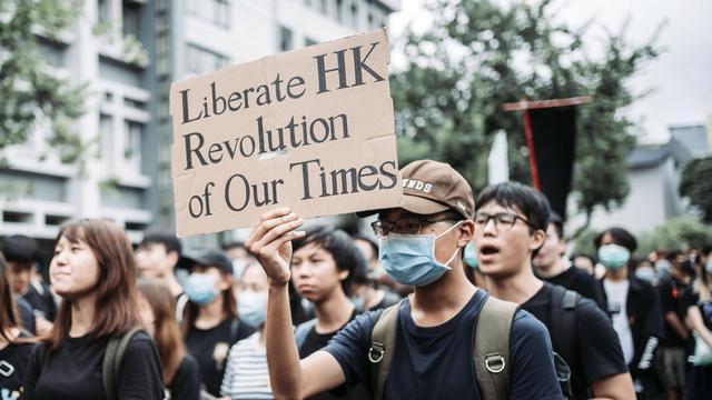 Al honderden arrestaties in Hongkong na invoering nieuwe veiligheidswet