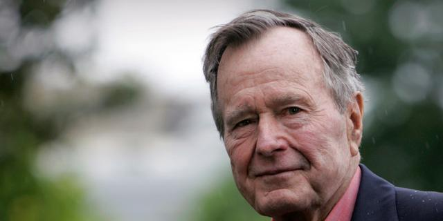 Amerikaanse oud-president George H.W. Bush (94) overleden