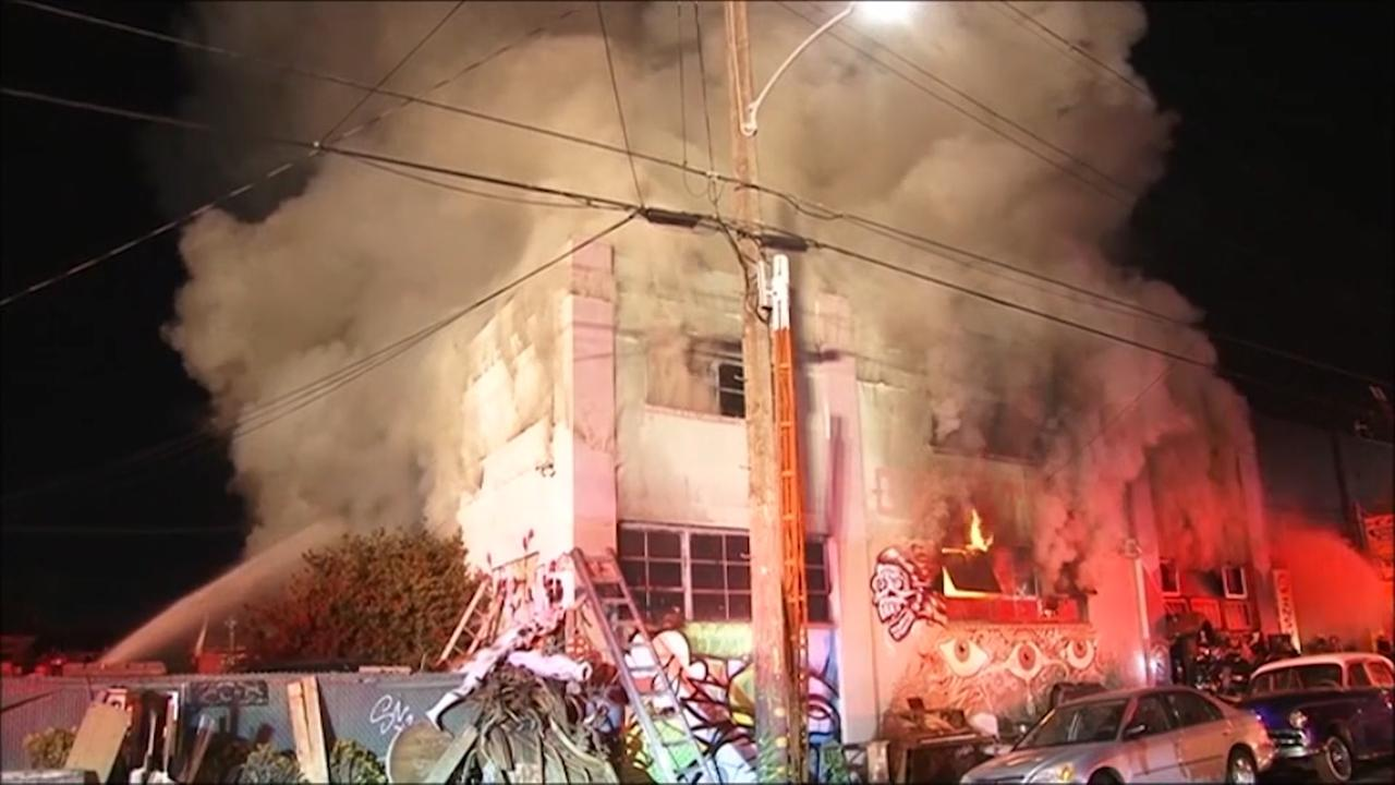 Autoriteiten verwachten dat dodental brand Oakland stijgt
