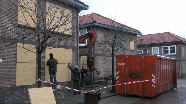 Voorbereiding sloop Zeeheldenbuurt Leiden in volle gang