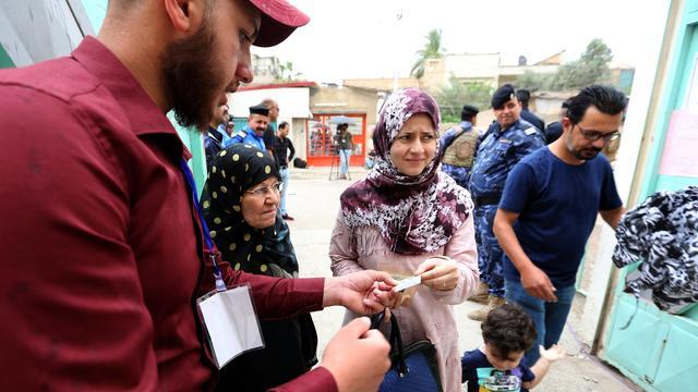 Verkiezingsochtend Irak zonder grote incidenten