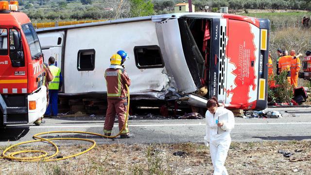 Ook derde Nederlander overleefde busongeluk Spanje