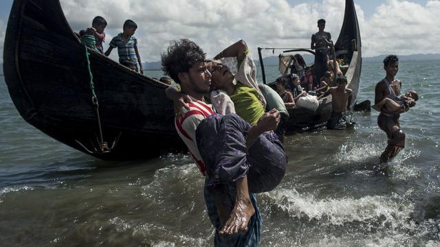 'In augustus en september 6.700 Rohingya gedood in Myanmar'