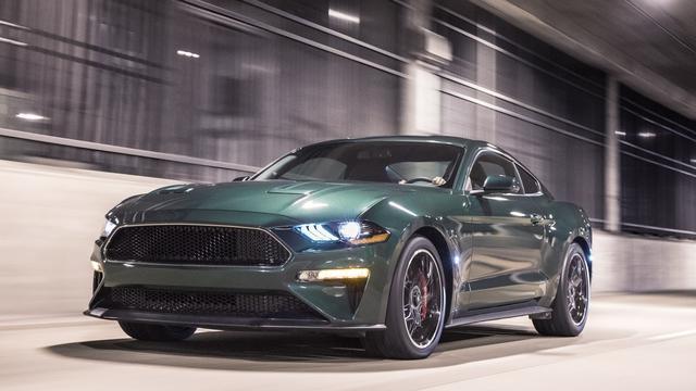 Ford grijpt terug op verleden met Mustang Bullitt