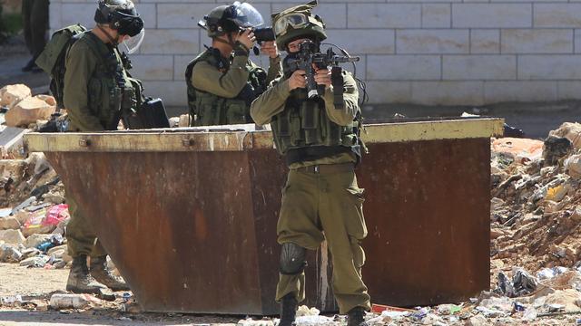 Leger Israël legt Israëlische militair doodslag ten laste voor doden Palestijn