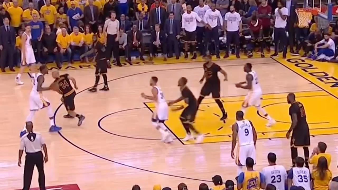 Golden State Warriors pakt NBA-titel ten koste van Cleveland Cavaliers