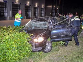 Berger heeft de auto geborgen