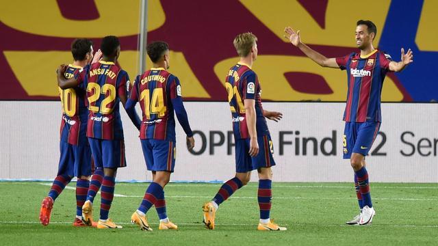 Busquets prijst aanpak Koeman bij Barcelona: 'We voelen ons er goed bij'