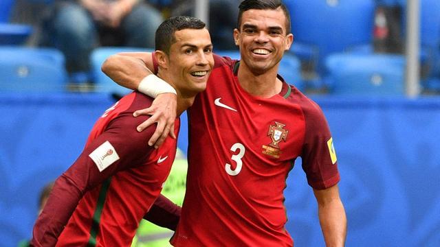 Portugal en Mexico eerste halve finalisten Confederations Cup
