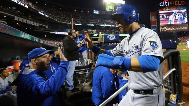 Royals na nieuwe zege op Mets dicht bij winst World Series