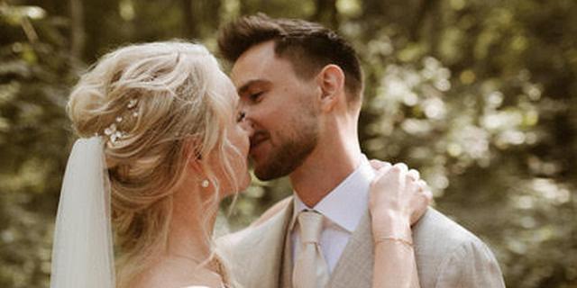 Dj Lucas de Wert van Lucas & Steve is in kleine kring getrouwd
