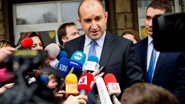 Socialist Radev wint eerste verkiezingsronde Bulgarije