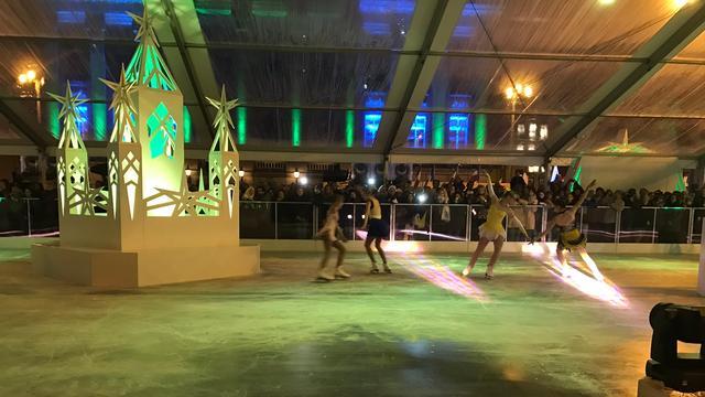 IJsbaan op Grote Markt is geopend