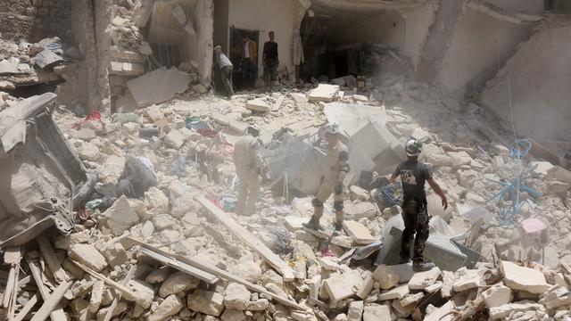VN houdt Syrische regeringstroepen verantwoordelijk voor gasaanvallen