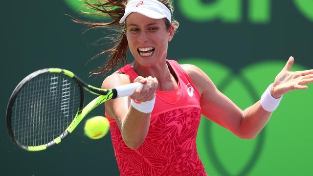 Konta klopt Wozniacki en pakt titel in Miami