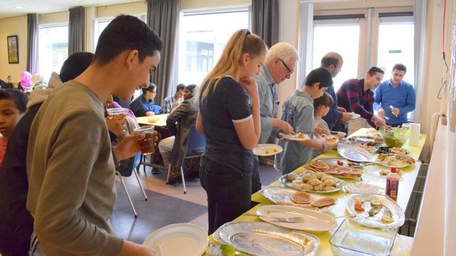 Syrisch feest in de Gong in Etten-Leur