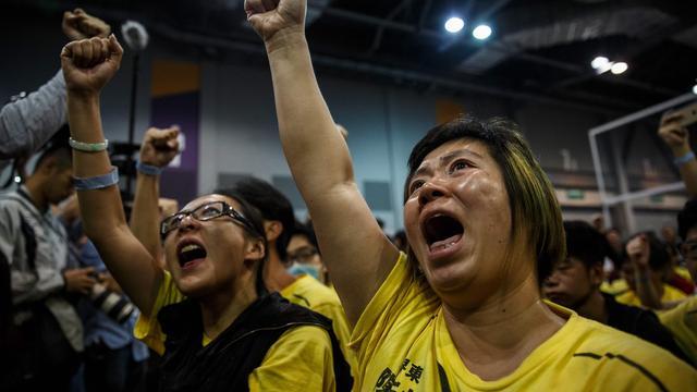 China waarschuwt voorvechters onafhankelijk Hongkong