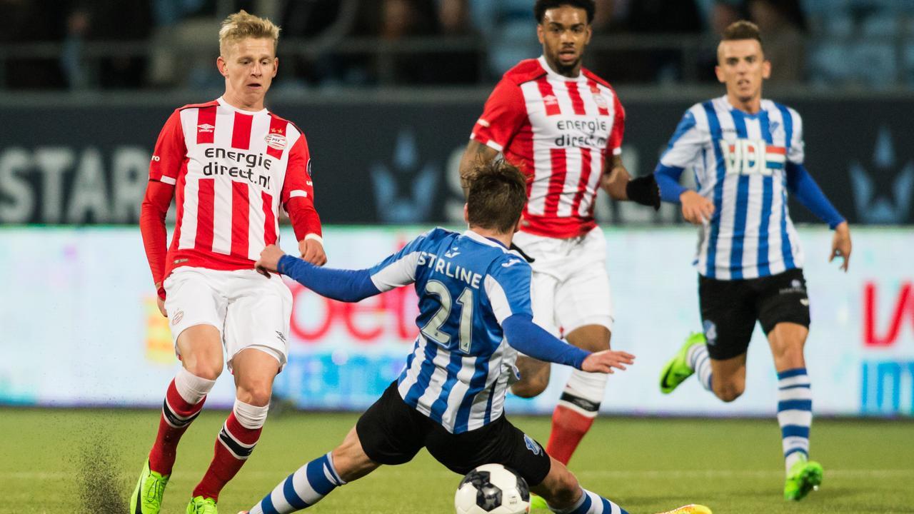 Samenvatting FC Eindhoven-Jong PSV (0-5)
