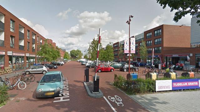 Politie zoekt verdachte van overval op winkel Haroekoeplein