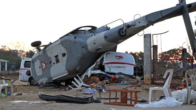 Dertien doden door crash helikopter in Mexico