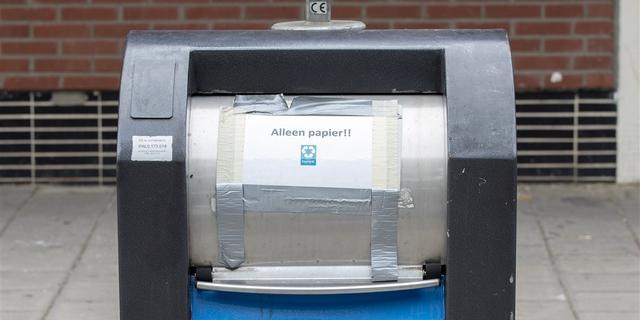 Vollere papierbakken door lockdown in Schouwen-Duiveland