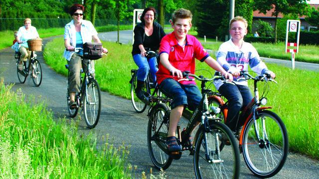 Pupillenrit nieuw in Rucphense fiets-4-daagse