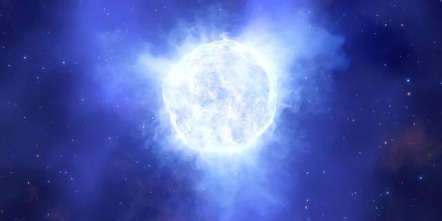 Mysterie in de kosmos: astronomen zien ster voor hun neus verdwijnen