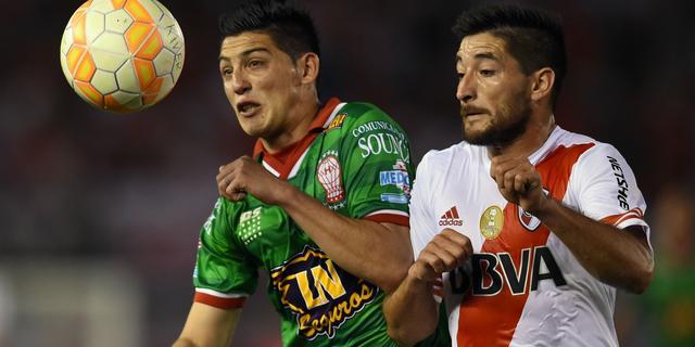Waardeloze ingooi tijdens Copa Sudamericana-duel