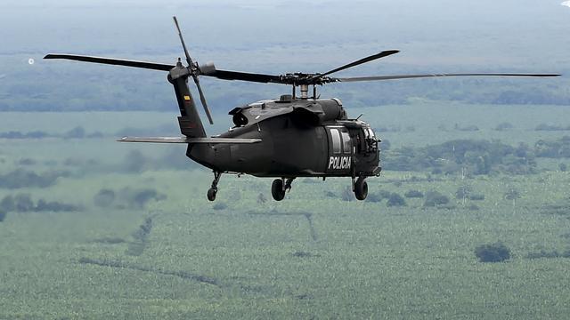 Tien doden in Colombia na neerstorten legerhelikopter