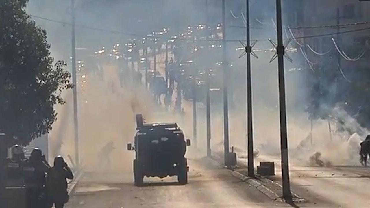 Palestijnen opnieuw slaags met Israëlische politie in Bethlehem