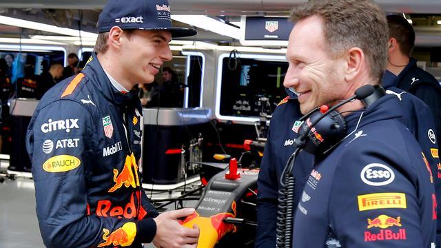 Teambaas Horner denkt dat Verstappen dit jaar nog drie races kan winnen