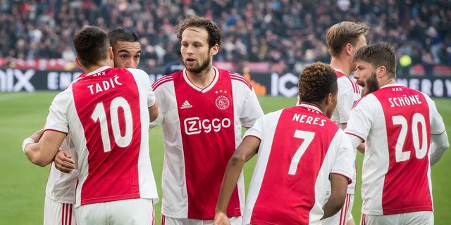 KNVB verplaatst opnieuw duels voor mogelijke halve finales Ajax in CL