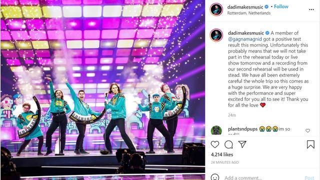De band deelt het nieuws zelf op Instagram.