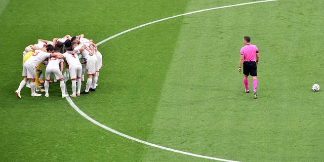 UEFA onderzoekt mogelijke schending coronaregels door Noord-Macedonië