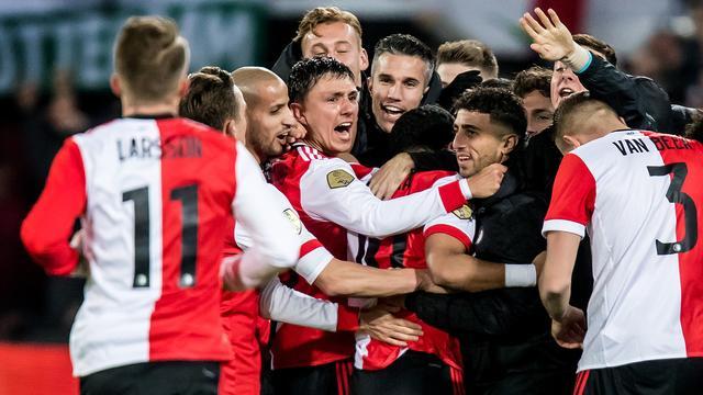 Feyenoord in halve finale beker thuis tegen Willem II, AZ-FC Twente
