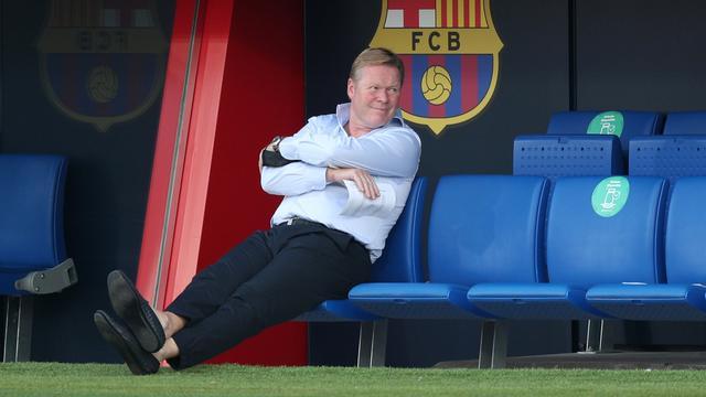 Koeman over vertrek Suárez: 'Lijkt nu alsof ik de slechterik ben geweest'