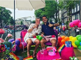 Onder meer Kees Tol, Tim Hofman en Leco van Zadelhoff zijn in Amsterdam