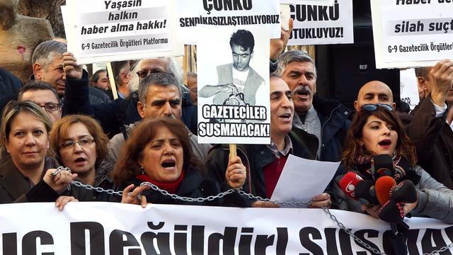 Justitie Turkije eist levenslang tegen journalisten