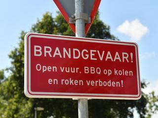 Gemeente plaatst waarschuwing wegens brandgevaar door extreme droogte