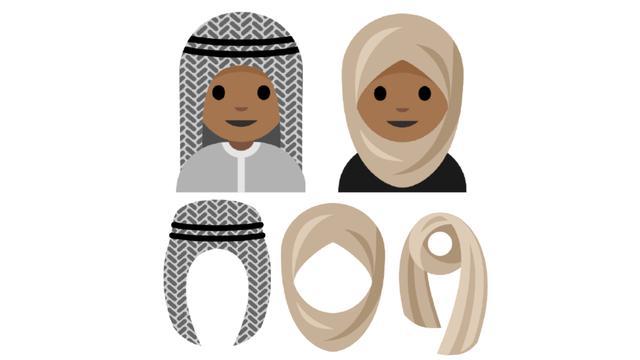 Vijftienjarig meisje pleit voor hoofddoek-emoji
