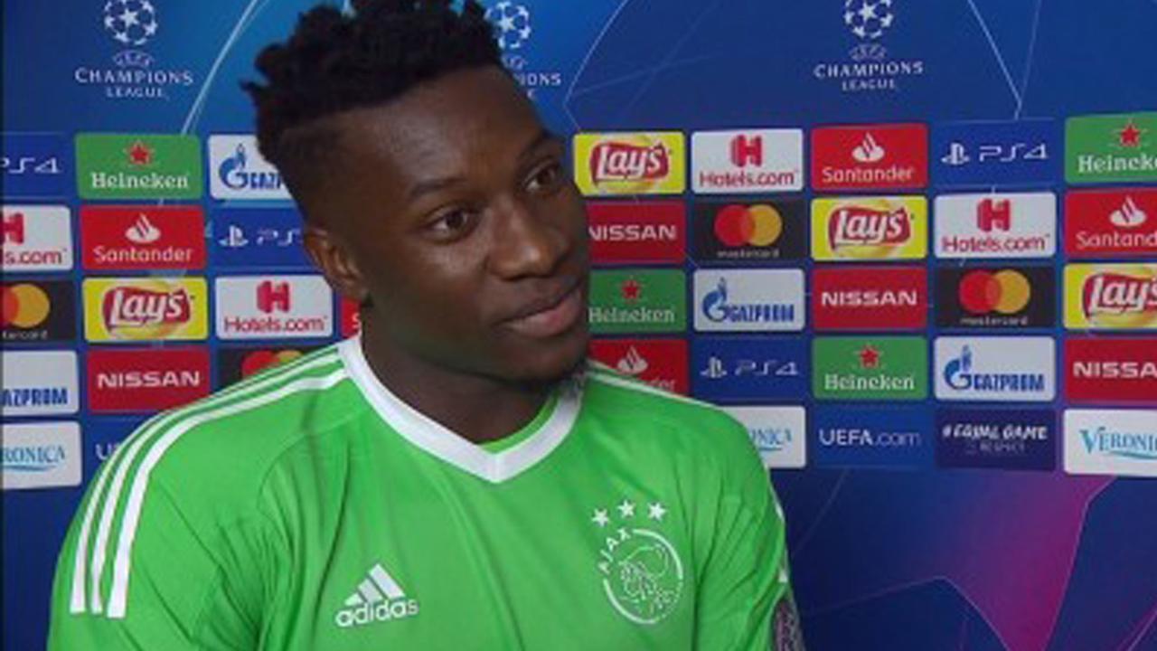 Ajax-keeper Onana: 'Wij waren beter dan Benfica'