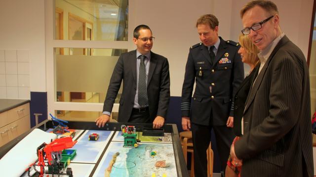 Project 'Zweven en Vliegen' officieel van start op basisschool Klim-Op