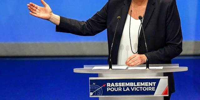 Le Pen wil naam Front National wijzigen in Rassemblement National