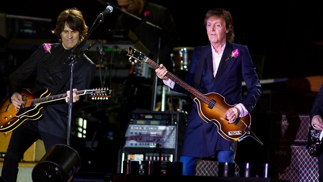 Paul McCartney op Pinkpop