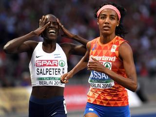 'Ik wist niet of ik al moest sprinten'
