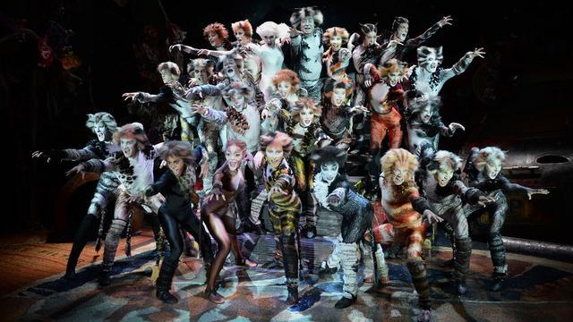 Extra voorstellingen in kerstvakantie voor musical Cats in Nederland
