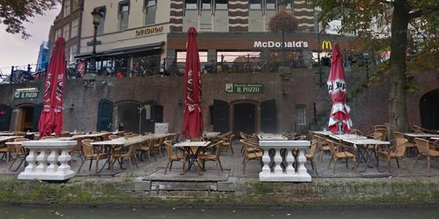 Brand bij restaurant Il Pozzo aan de Oudegracht onder controle