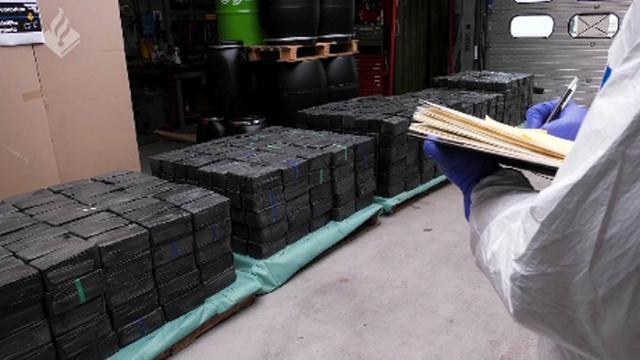 2.500 kilo crystal meth ontdekt in Rotterdam, grootste vondst in Europa ooit